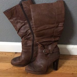 Brown Decree Boots